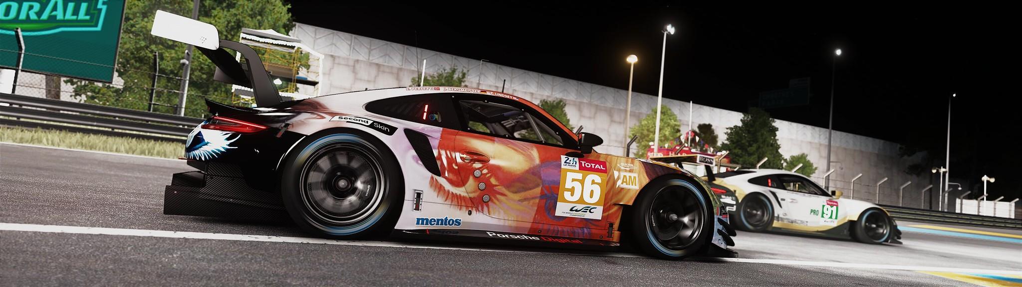 Assetto Corsa - Test Setup Mod Graphic Fx & Sound (Circuit 24 Le Mans) 49415724858_a83574ff98_k