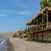 Strandtentje Eressos Griekenland