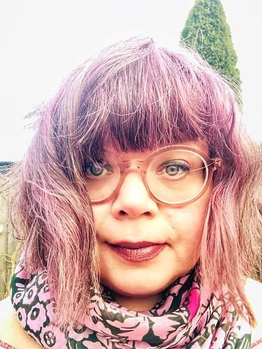 kicking off 2020 with #vegan pink hair #marianila