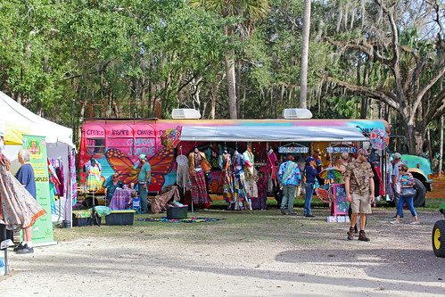 bus festival booths merchandise vendors hippieretro florida crystalriver
