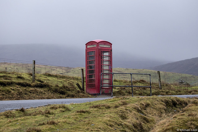 Telephone kiosk; Shetland Islands