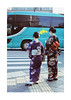 Geishas and Green Bus
