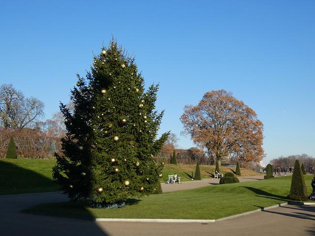 arbre de Noël Kensington Palace