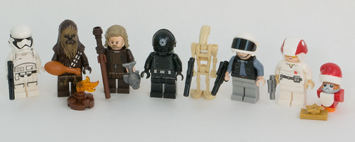 Advent 2019 Recap SW Minifigs