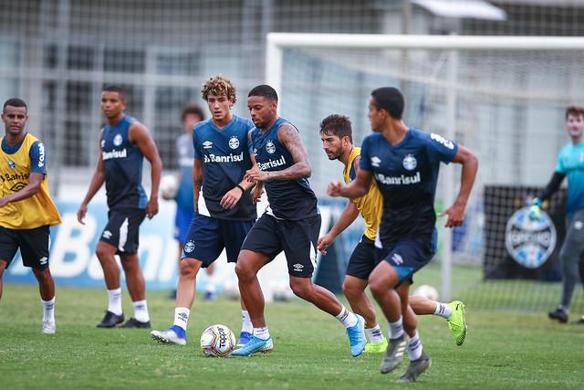 Treino Grêmio 20/01/2020