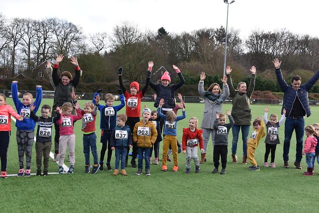 foto Kidsrun Diepenveen januari 2020