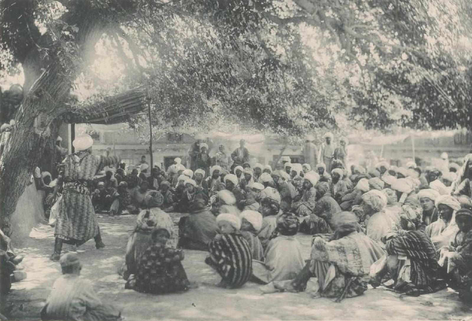 11. Бухара. Сказители, 26 мая 1898 года