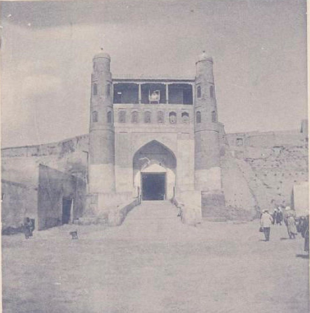 07. Бухара. Вход в цитадель. 20 мая 1898 года