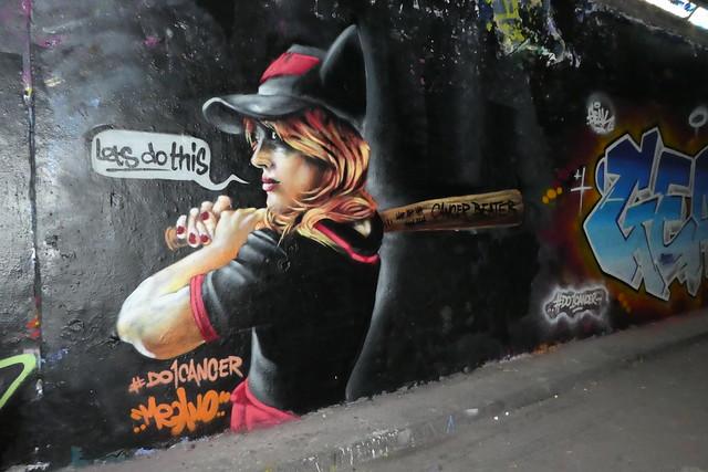 Mr Meana graffiti, Leake Street