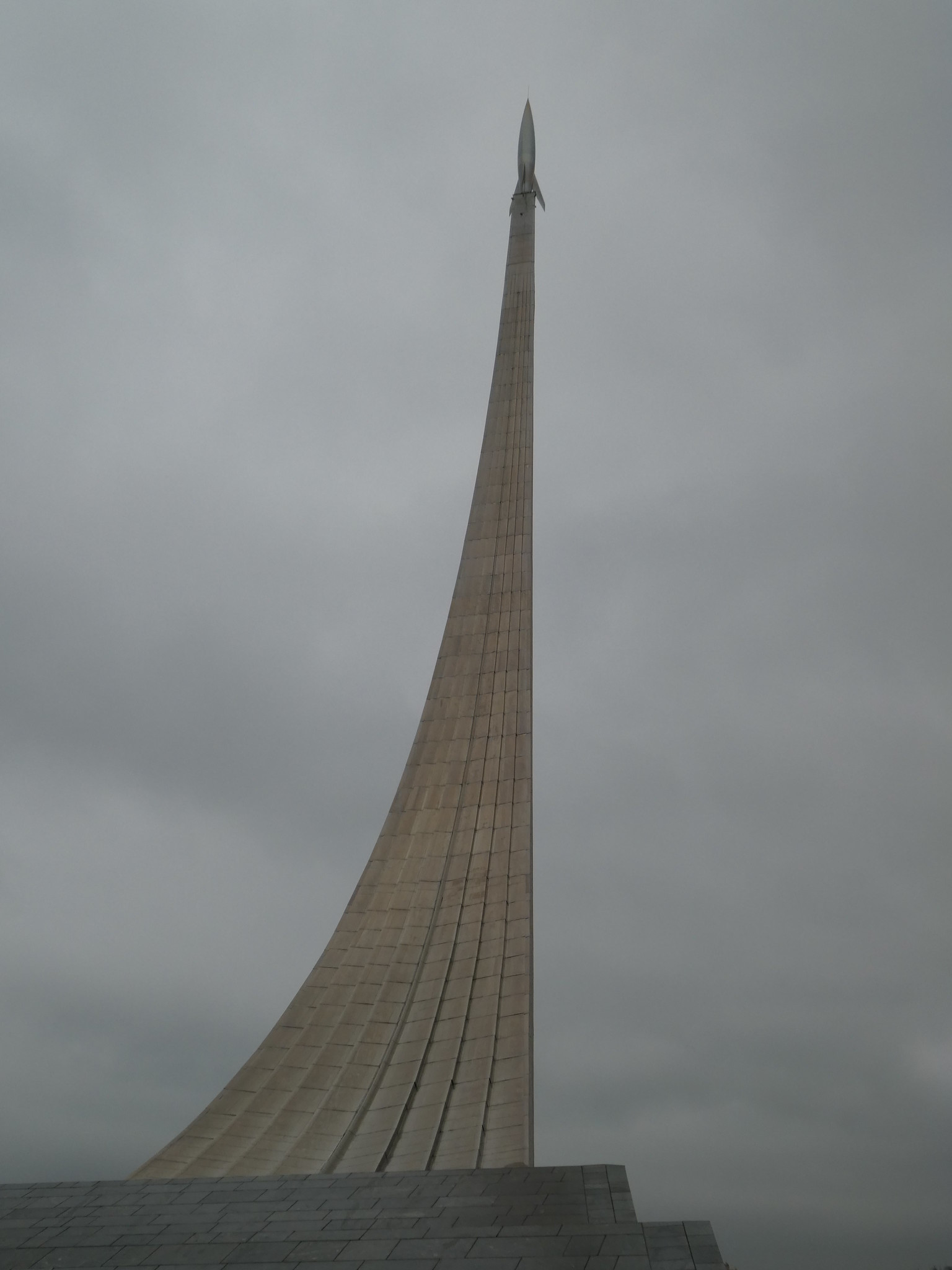 Monument to the Conquerors of Space VDNKh Park, Moscow