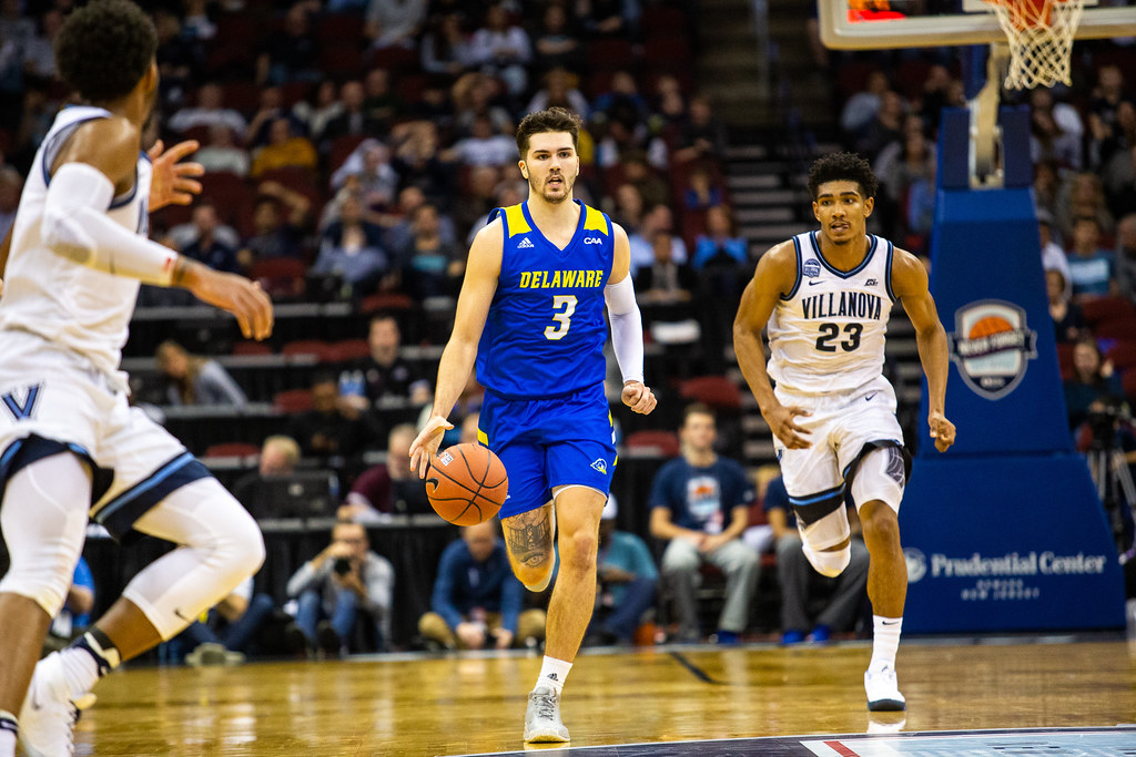 Oh so close: Blue Hens hang close with No. 20 Villanova, get edged out 78-70 in Never Forget Tribute Classic, Struggle early in conference play