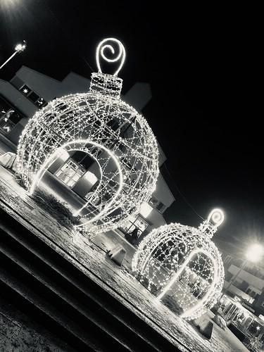 christmas lights, sweden 2019