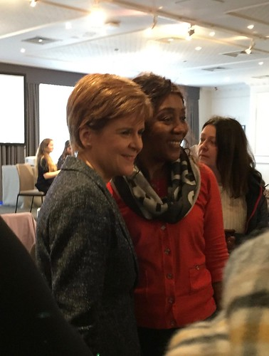 Nicola Sturgeon at StayInScotland