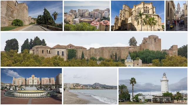 Montage - Malaga, Costa Del Sol, Espagne, Spain - 25867