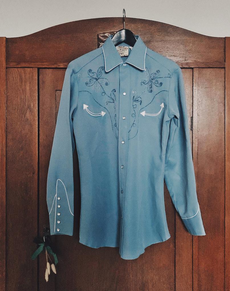 cowboy-skjorta