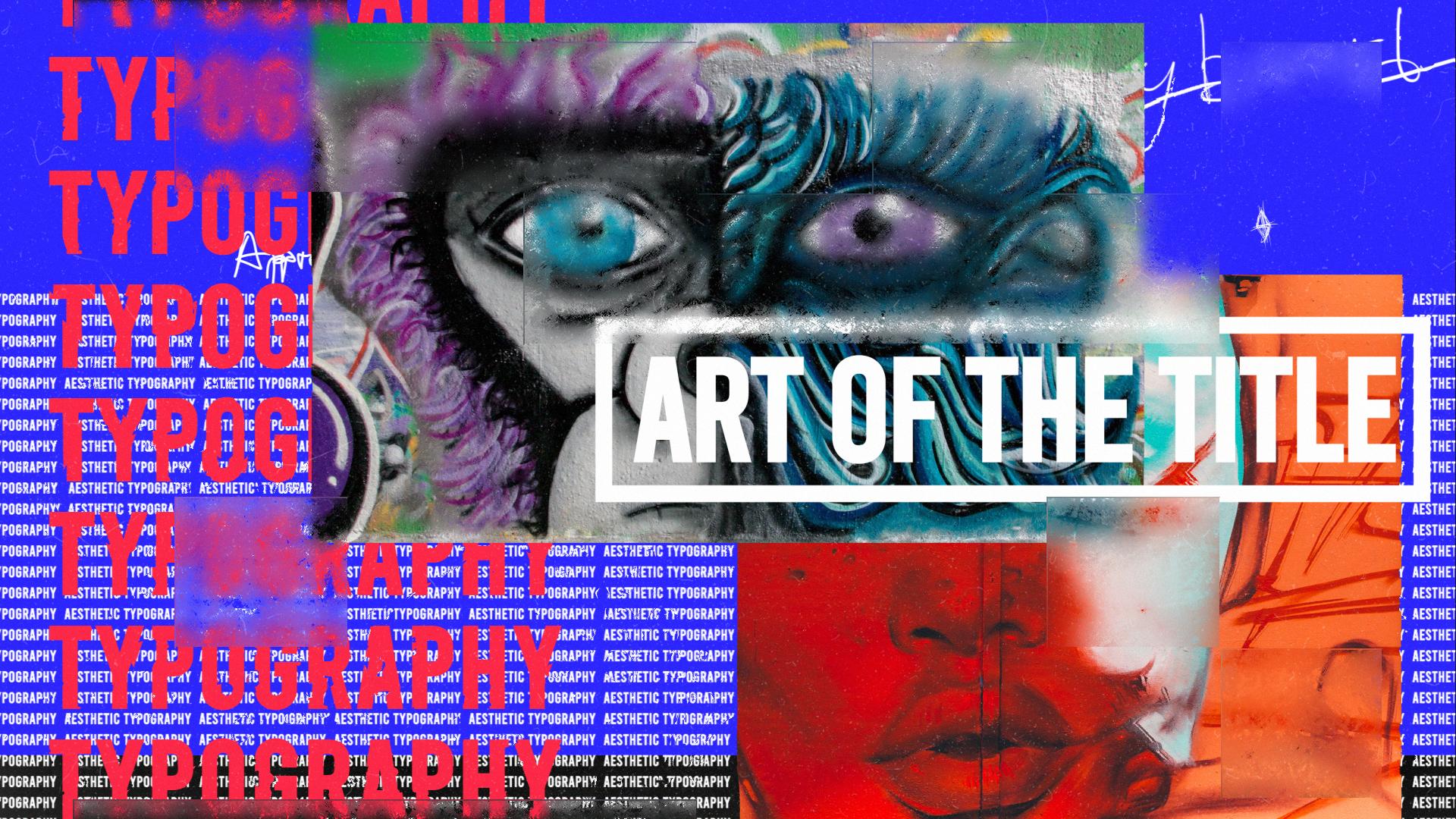 Art of The Title | Kinetic Aesthetic Typography - 5