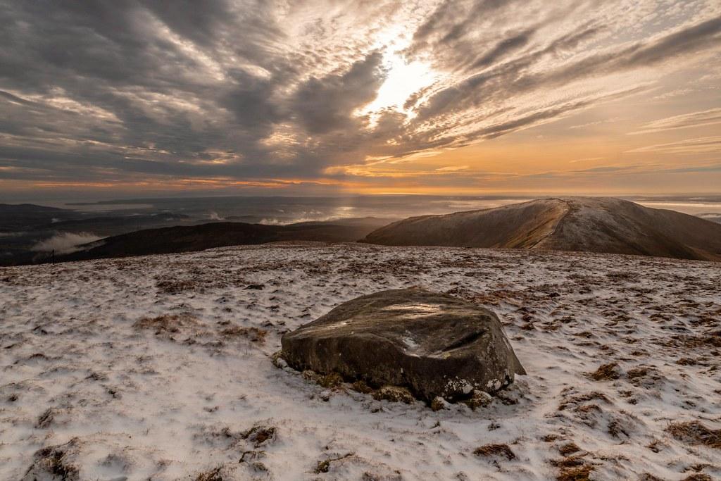Winter landscape in the Galloway hills. by Mark Mckie