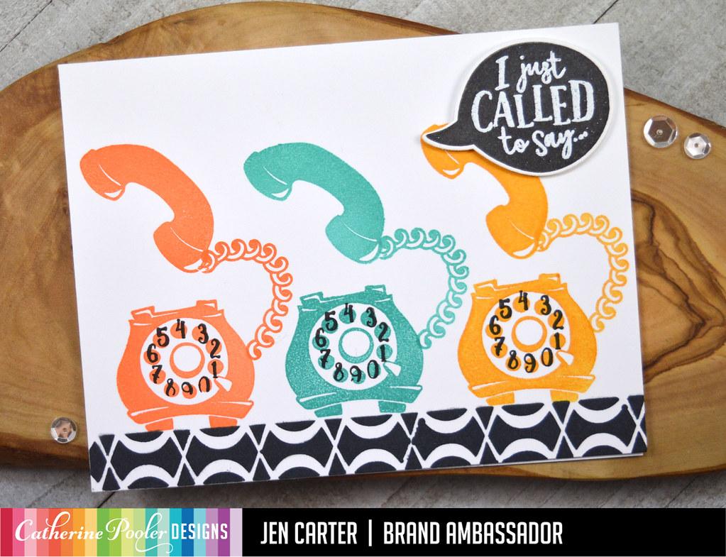 Call Me Loop Braid Stencil 3 Just Called JDC