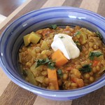 Curried Lentil and Vegetable Stew