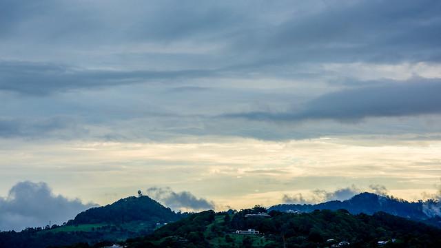 Evening Comes Cloud Settles