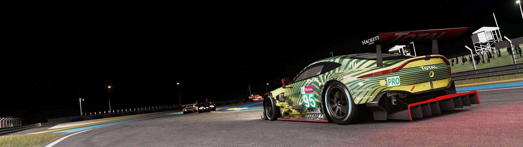 Assetto Corsa - Test Setup Mod Graphic Fx & Sound (Circuit 24 Le Mans) 49416410607_81da5ea614_k
