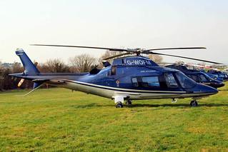 G-WOFM   Agusta A.109E Power [11678] Cheltenham Racecourse~G 17/03/2011