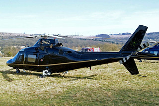 G-ONEL  Agusta A.109C MAX [7630] Cheltenham Racecourse~G 16/03/2010