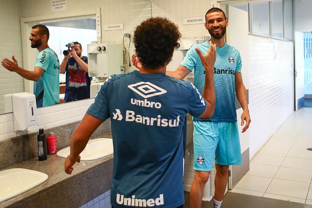 Apresentação Vanderlei no Grêmio