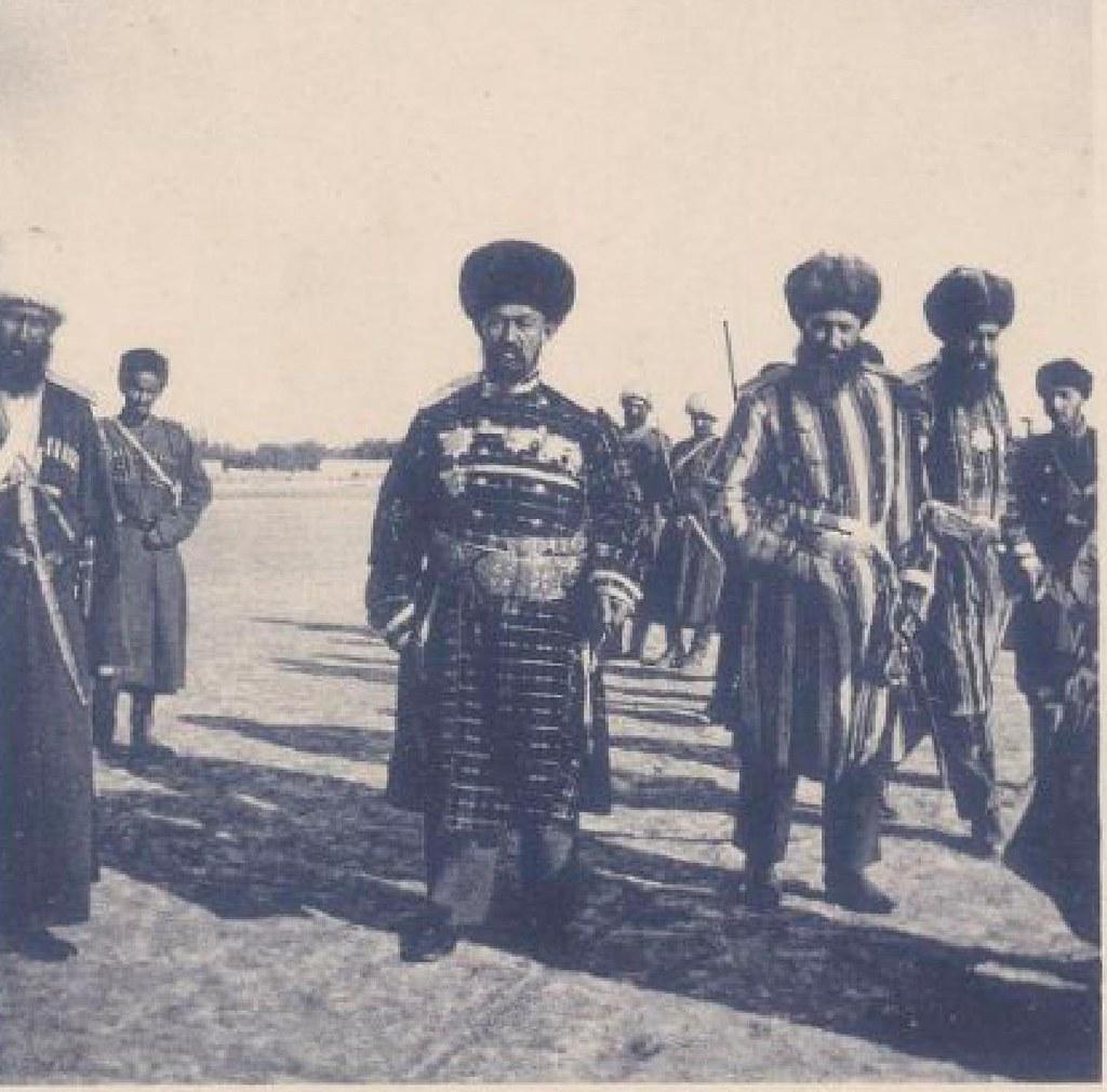 15. Бухара. Военный министр, 22 мая 1898 года