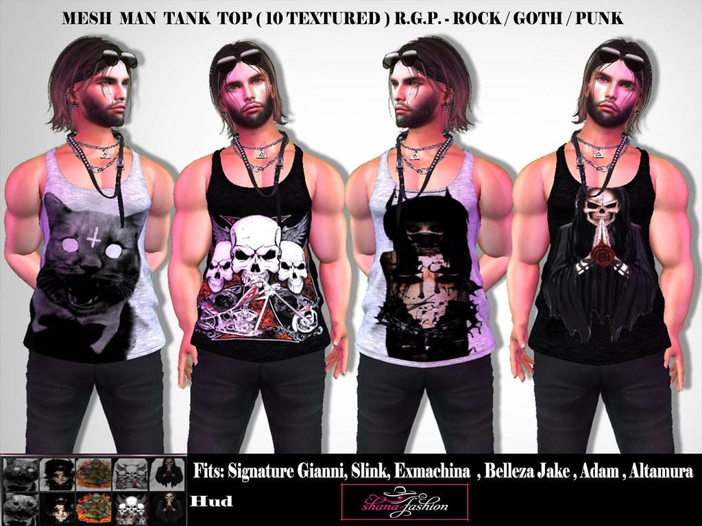 Mesh Man Tank Top R.G.P