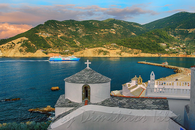 Two monuments in danger at Skopelos