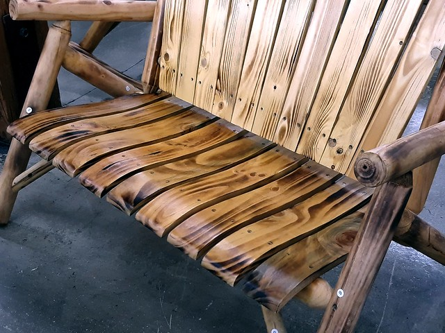 Wooden Bench ~ Closer In