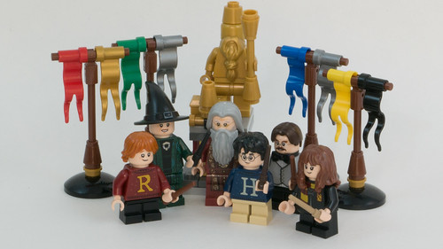 Advent 2019 Recap HP Minifigs