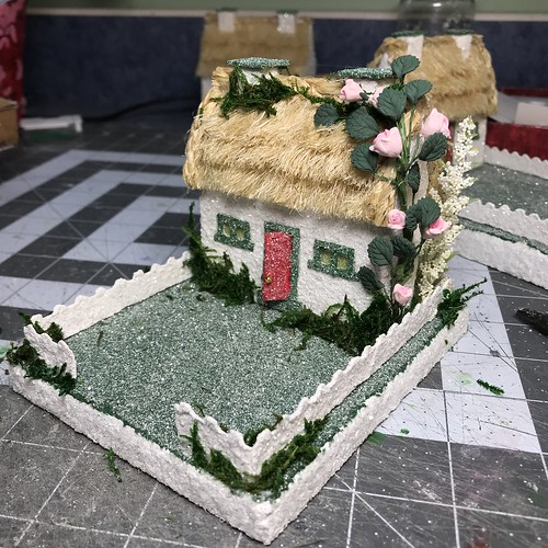 putz house thatched roof tutorial