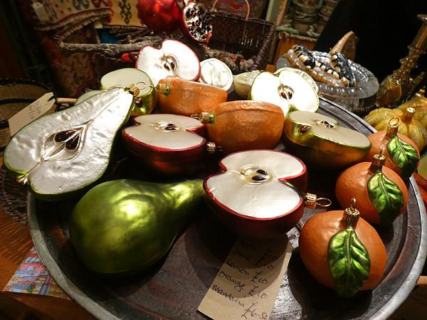 boules de neige fruits