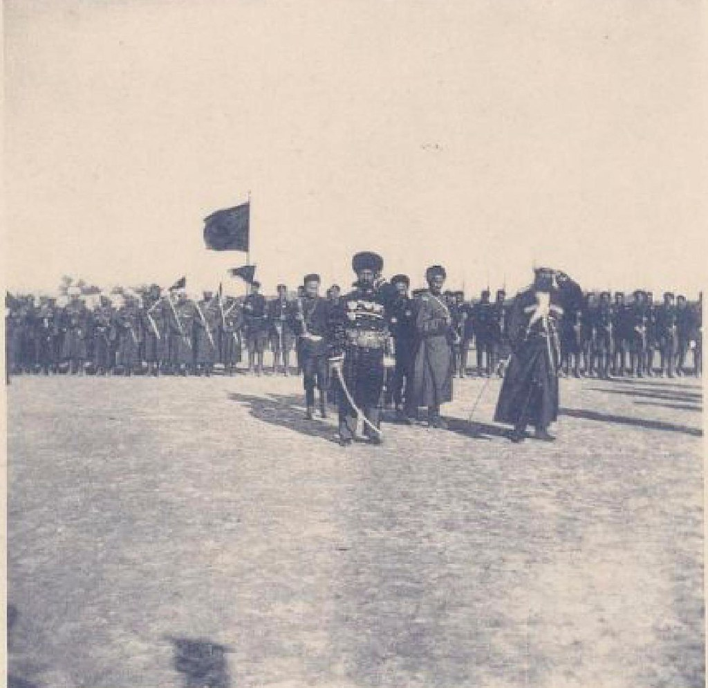14. Бухара. Парад армии эмира, 22 мая 1898 года