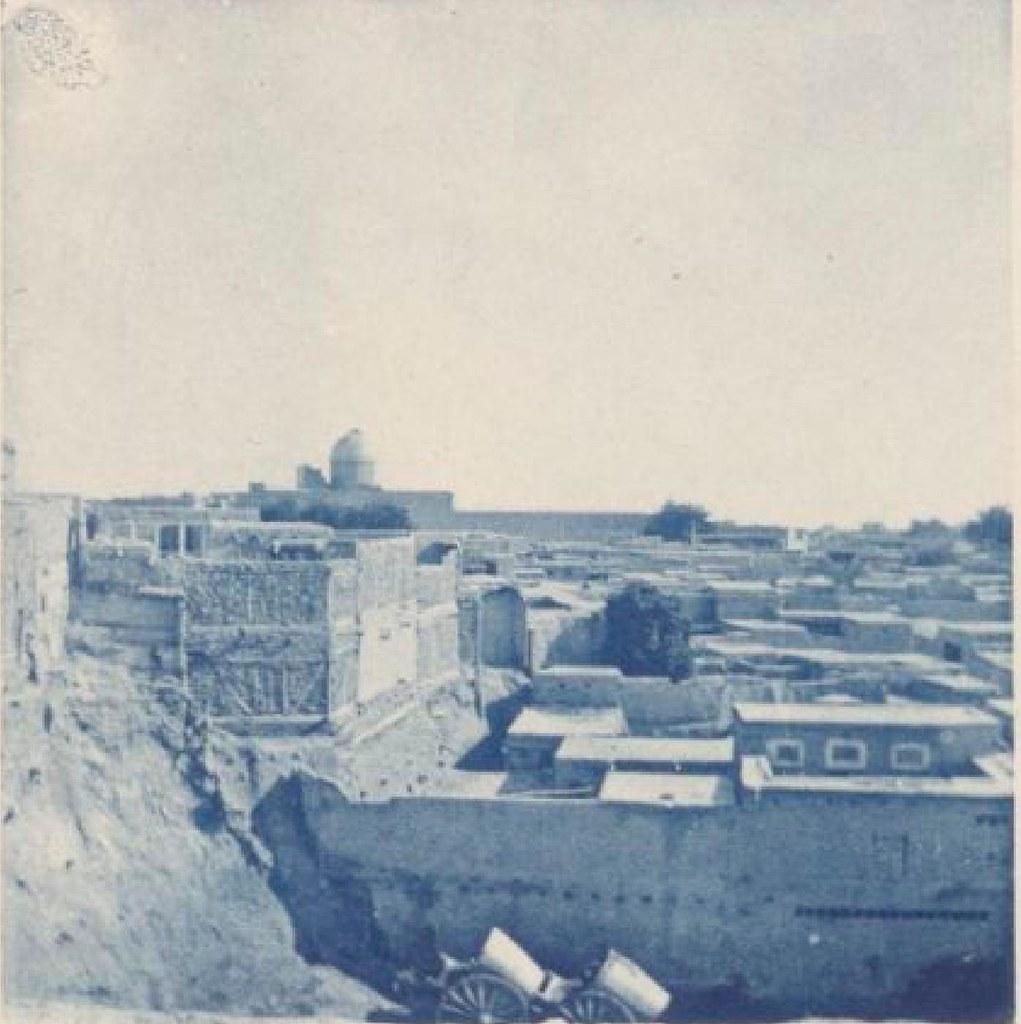 12. Бухара. Вид на город из тюрьмы, 22 мая 1898 года