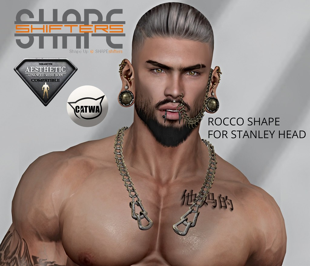 [SHAPEshifters] ROCCO SHAPE FOR AESTHETIC BODY & STANLEY HEAD (2)