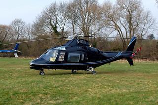 G-MDPI   Agusta A.109A-2 [7393] Cheltenham Racecourse~G 15/03/2011