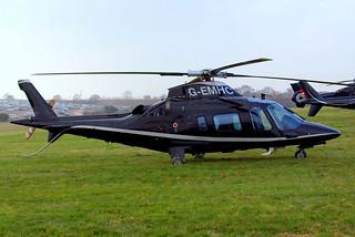 G-EMHC   Agusta A.109E Power [11721] Cheltenham Racecourse~G 15/03/2011