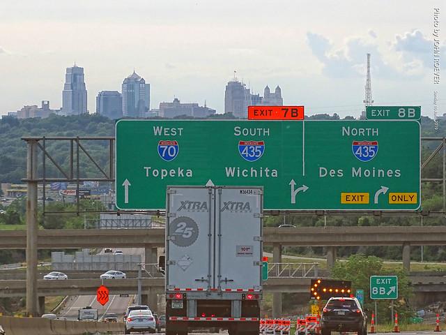 I-70 & I-435 in KCMO, 16 June 2019