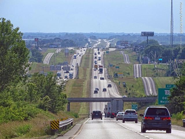 I-70 Westbound near Odessa, 16 June 2019