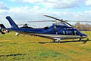G-VIRU   Agusta A.109E Power [11208] Cheltenham Racecourse~G 18/03/2011