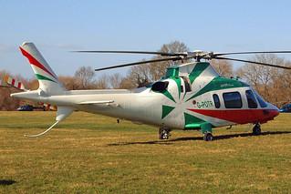 G-POTR   Agusta A.109E Power [11043] (Castle Air) Cheltenham Racecourse~G 10/03/2015