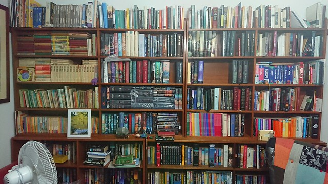 Main bookcase in new home