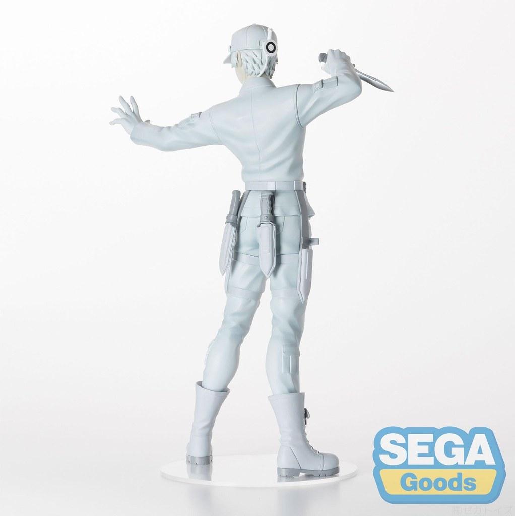 去死吧!雜菌!SEGA景品《工作細胞》「U-1146 白血球」PVC塗裝完成品(はっけっきゅう)