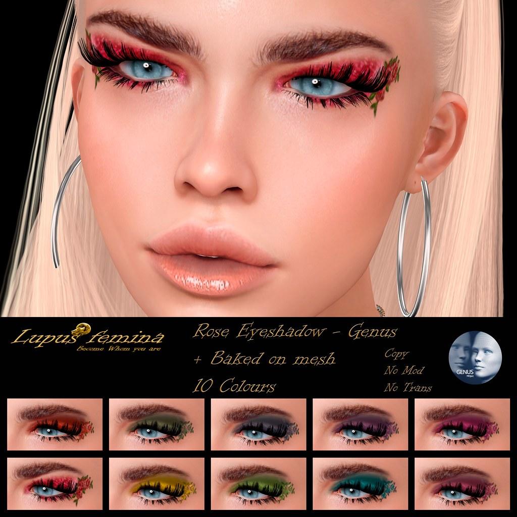 """""""Lupus Femina"""" Rose Eyeshadow – Genus + BOM"""