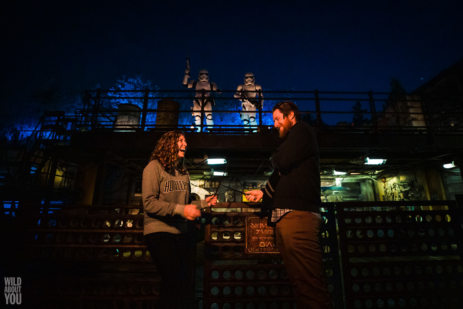 Harry Potter & Star Wars Disneyland Engagement 06