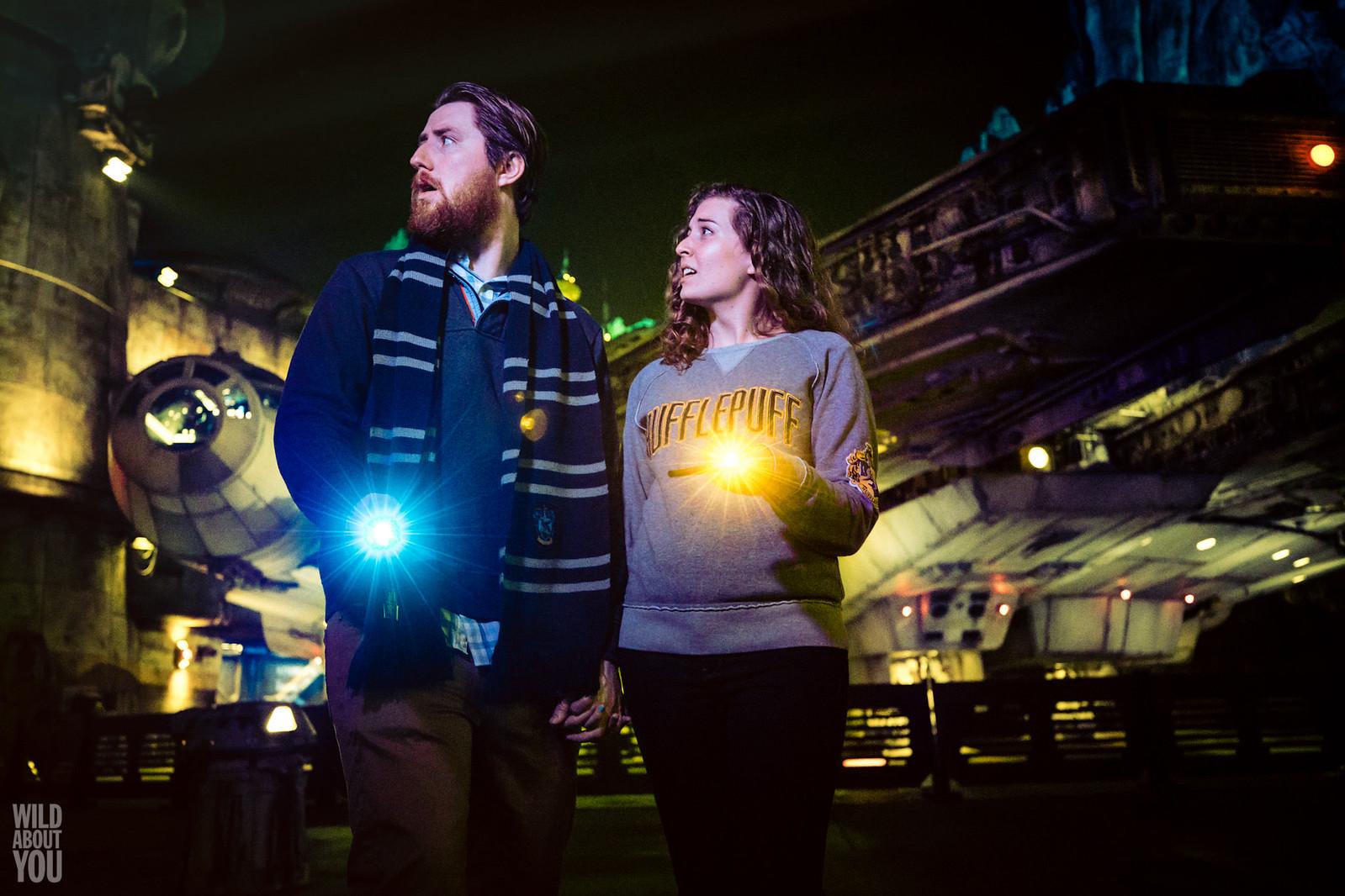 Harry Potter & Star Wars Disneyland Engagement 05