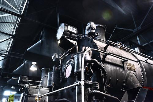 nevadanorthernrailwaymuseum ely nevada desert steamengine engineshop locomotive d810